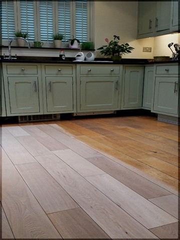 Solid oak floor renovation