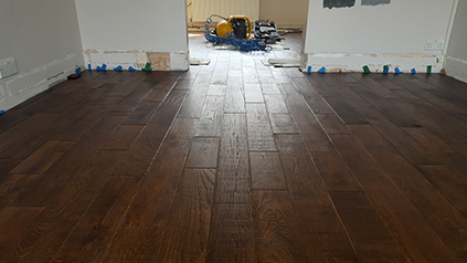 Hardwoord floor installation Surrey